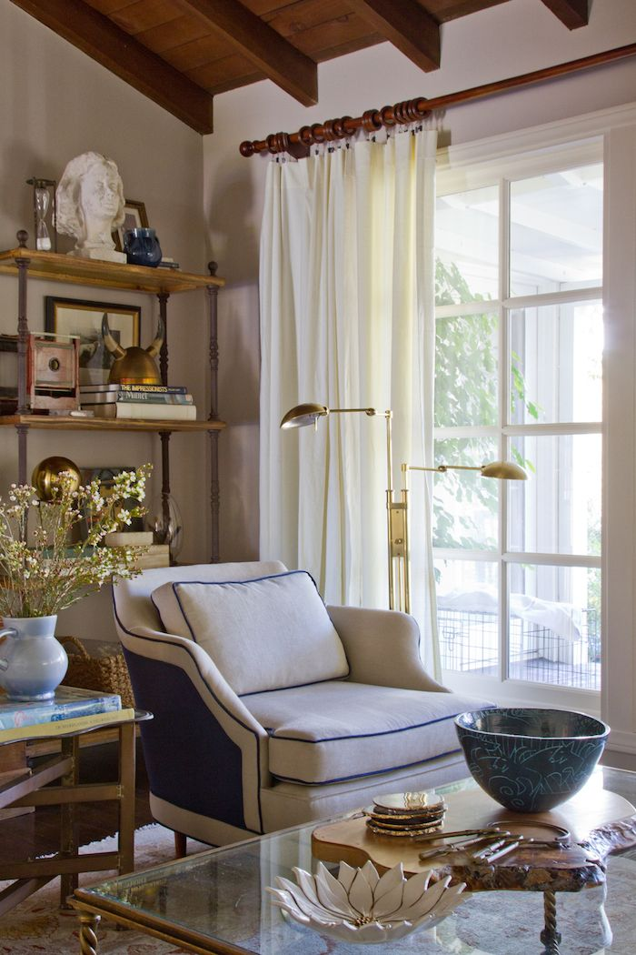 Emily Henderson styled room Love this relaxed expensive
