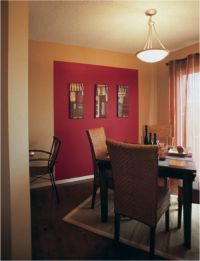 Sherwin-Williams Red Tomato (SW 6607) accent wall | Paint ...