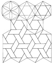 How to draw, Hexagons and To draw on Pinterest