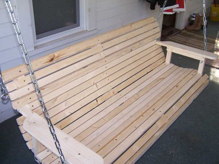 adirondack chair pattern stackable office chairs wood porch swing plan - homemade that is easy to build | woodworking plans ...