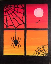 17 Best images about Painted Canvas- Fall, Halloween ...