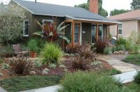 25+ best California front yard landscaping ideas on ...