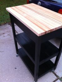 Diy Kitchen Cart - WoodWorking Projects & Plans