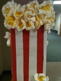 Large Popcorn Prop/Decoration for a Movie-Themed Party ...
