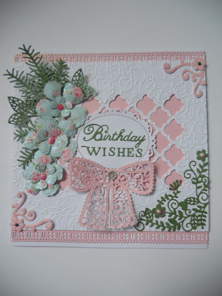17 Best Images About Tattered Lace Cards On Pinterest
