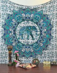 17 Best ideas about Elephant Tapestry on Pinterest