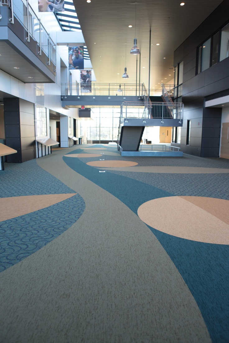 Powerbond by Tandus Flooring Great for educational
