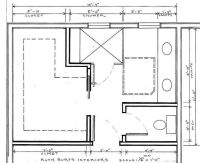 small water closet dimensions