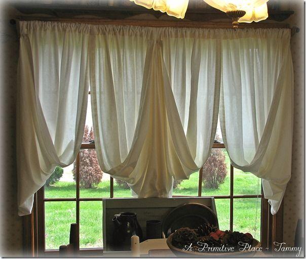 95 best images about primitive window treatments on