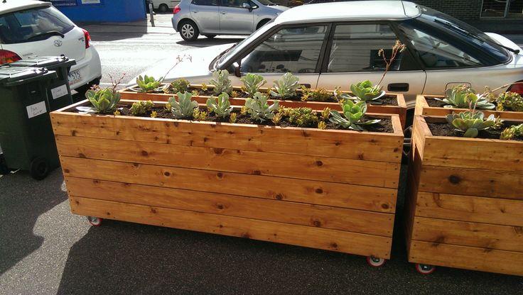 s aliciavaux cafe barrier planter box ideas