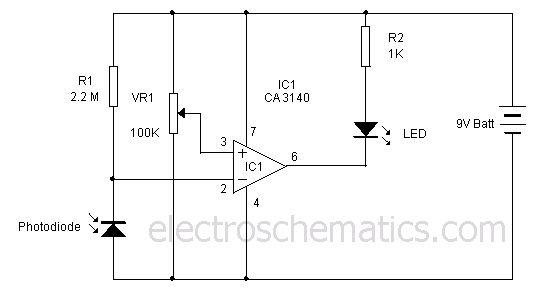 25+ best ideas about Light Sensor Circuit on Pinterest