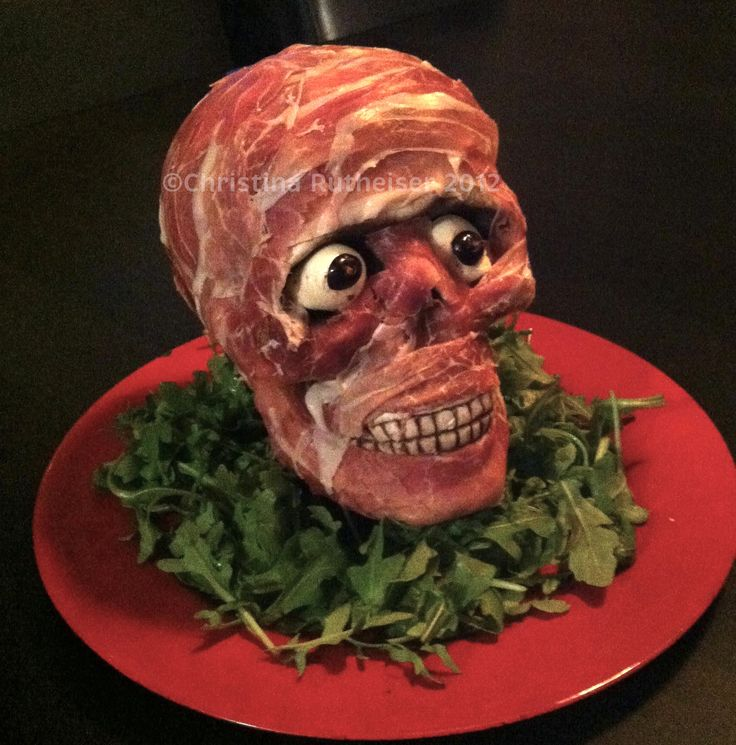 Halloween Appetizer I D Stack Our Meat Head Against The