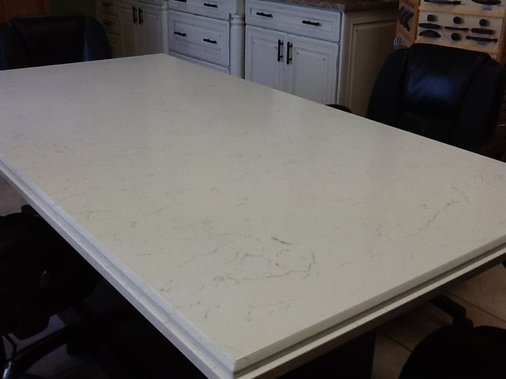 POMPEII QUARTZ WHITE LIGHTNING Tabletop View this and other colors on our website wwwumistone
