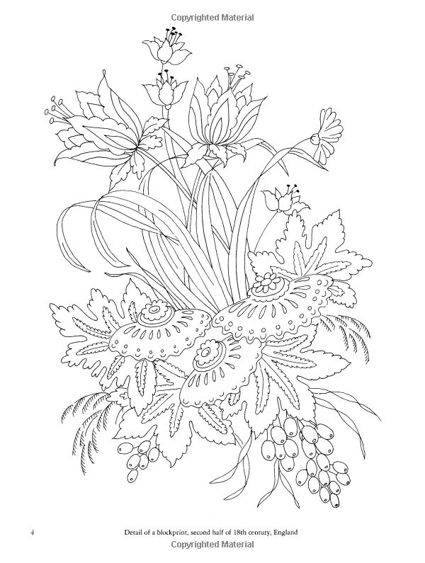 421 best images about flower coloring on Pinterest