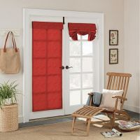 78+ ideas about French Door Curtains on Pinterest