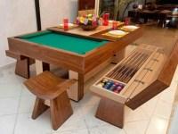 Pool table...dinner table   DIY IDEAS   Pinterest   All in ...