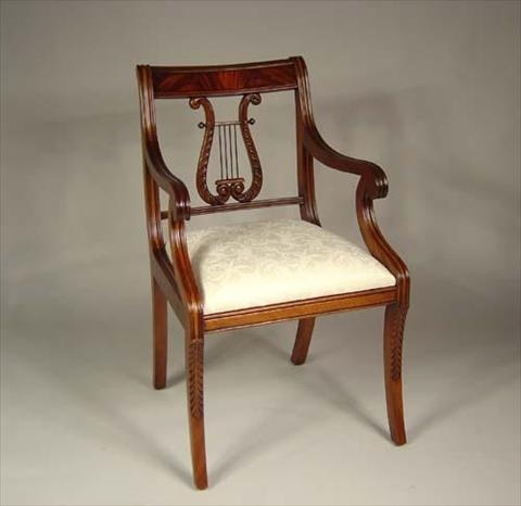 56 best images about Lyre Back Chairs on Pinterest  Louis