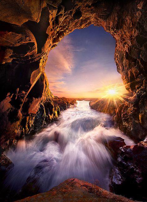 Niagara Falls Wallpaper Nature Sunset San Pedro Beach Cave California Usa Wanna