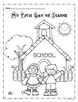 Kindergarten Coloring Sheets For Back To School