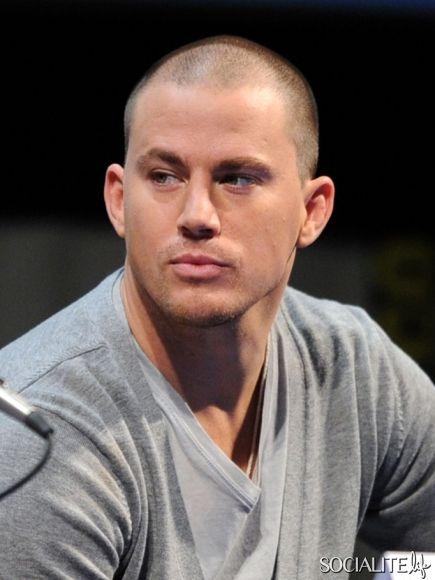 Comic Con Haywire Channing Tatum 2011 Panel Shaved Head