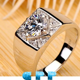 Huge Mens Diamond Rings Men Engagement Rings