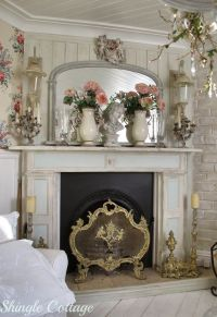 25+ best Shabby Chic Mantle ideas on Pinterest | Shabby ...