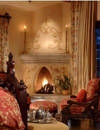 1000+ ideas about Country Fireplace on Pinterest | French ...