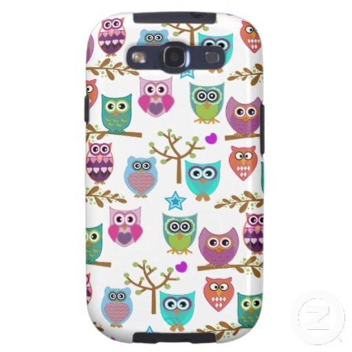 Cute Owl Samsung Galaxy S3 / SIII Cases