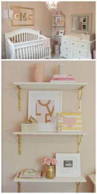 25+ best ideas about Gold nursery on Pinterest | Pink gold ...