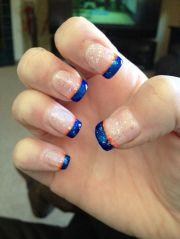 hockey nails ideas
