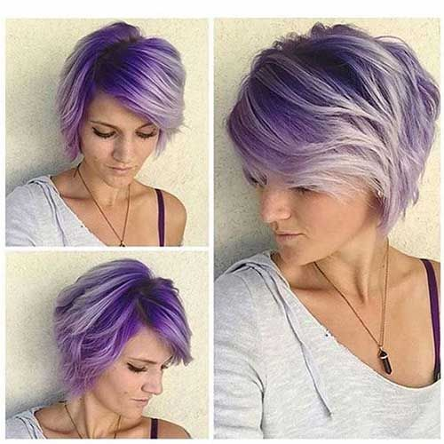 25 Best Ideas About Color For Short Hair On Pinterest