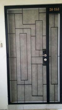 Steel Door Grills Design Pictures