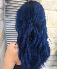 Best 25+ Midnight blue hair ideas on Pinterest