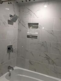 MS International Carrara 12 in. x 24 in. Glazed Polished ...