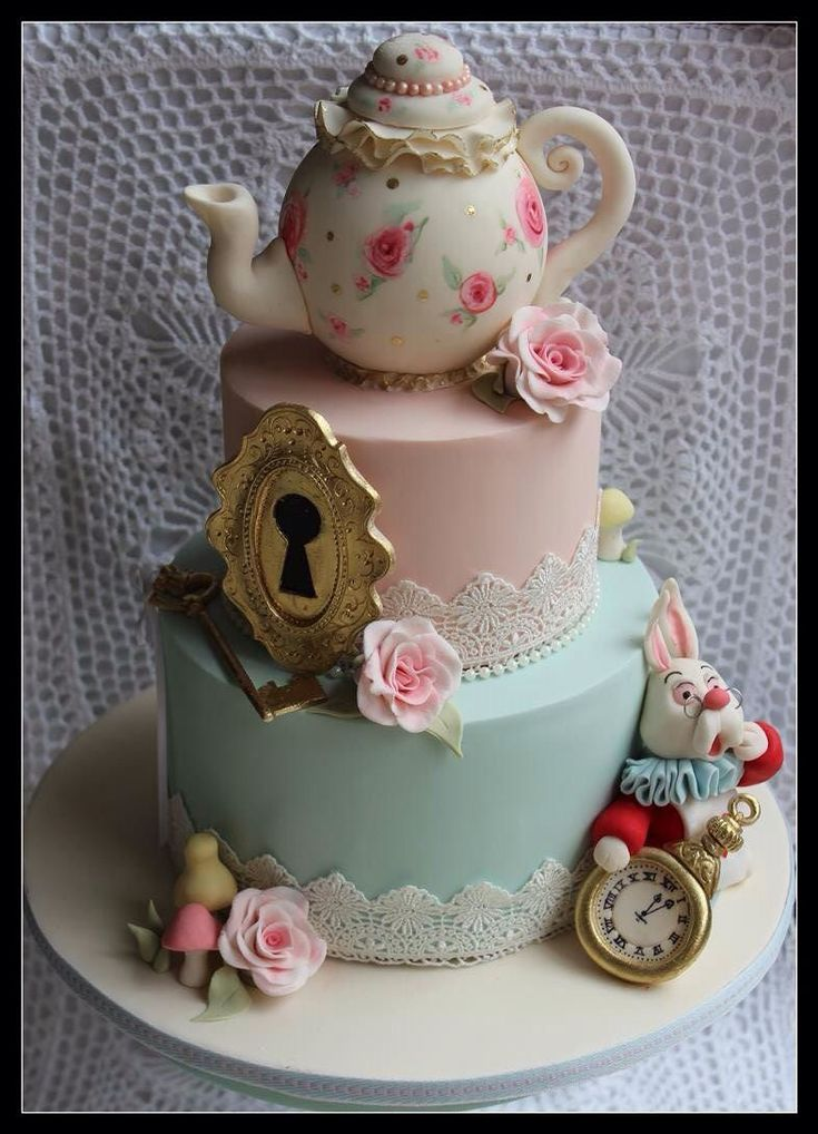 562 Best Images About Cakes Alice In Wonderland On