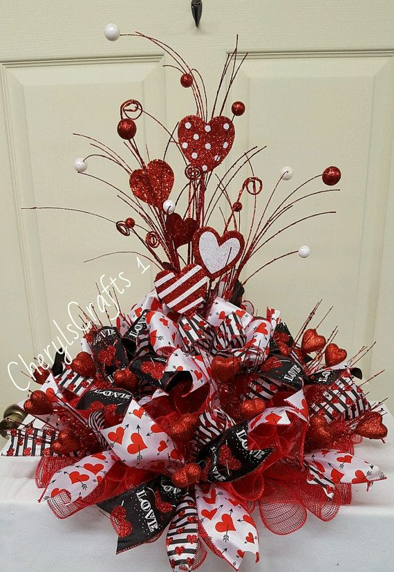 1000 Images About Crafts Deco Mesh Centerpieces On