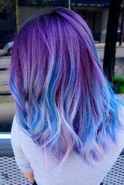 ideas blue purple