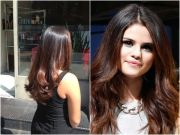 brunette ombr hair chocolate brown