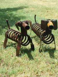 1000+ images about Metal Yard Art on Pinterest | Metal ...