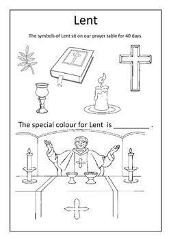 17 Best images about Catholic kids Lent and Easter on