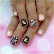 chanel nail art ideas