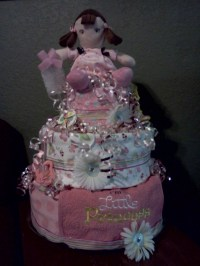 Thanks to Dollar General this Baby Shower Cake was cheap ...