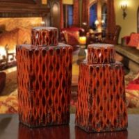 ST/2 FRENCH TUSCAN ITALIAN STYLE Old World VASES BOTTLES ...