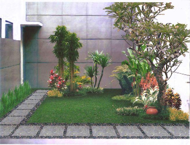 diseo minimalista jardin interior  inspiracin de diseo