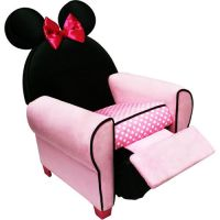 Disney Minnie Mouse Recliner Childrens Kids Chair Seat