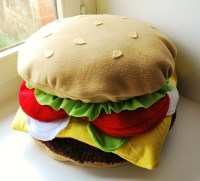 Related Keywords & Suggestions for hamburger pillow