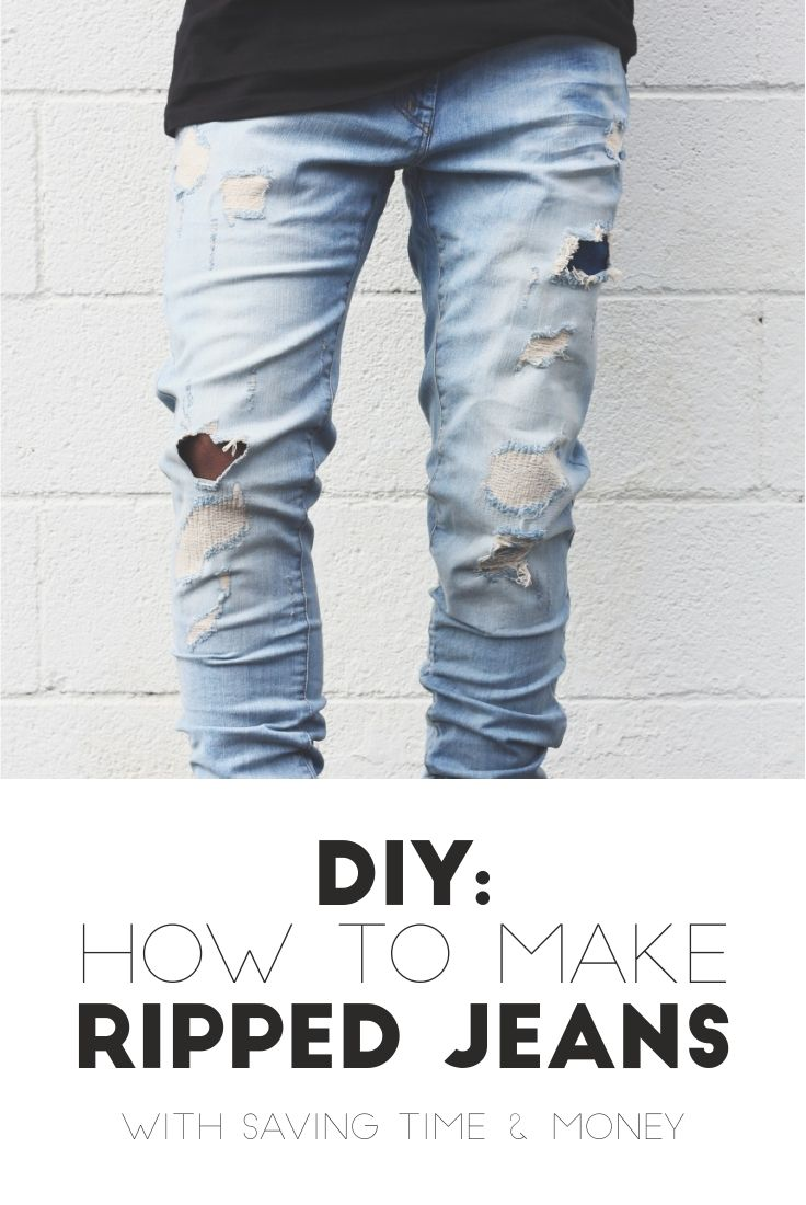 25 Best Ideas About Ripped Jeans Mens Fashion On Pinterest