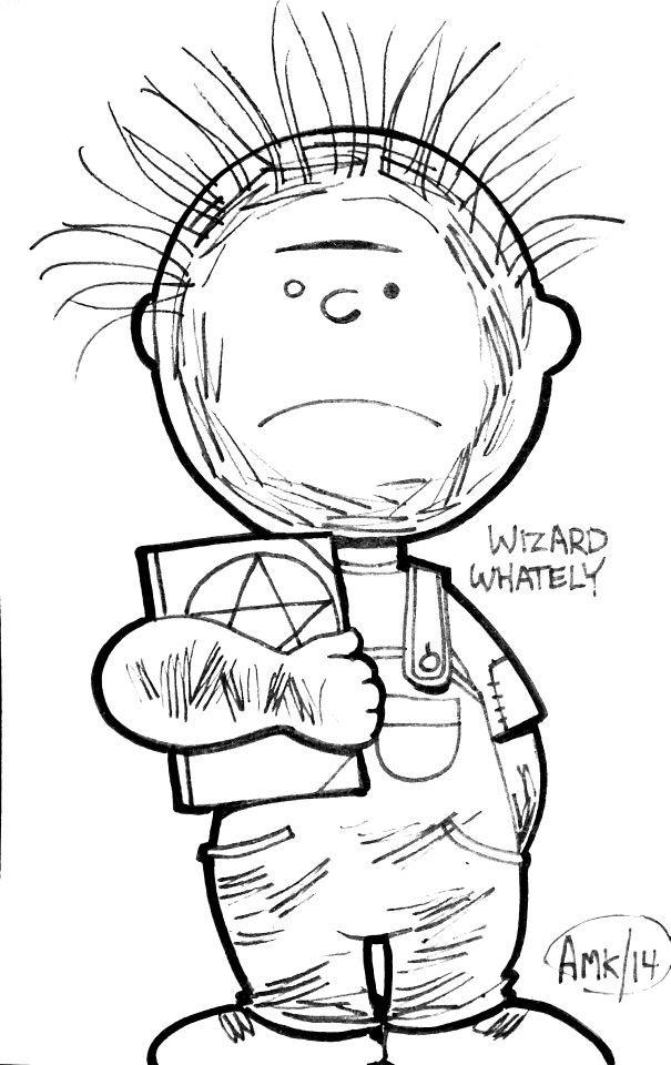 Drawn Planet Mars