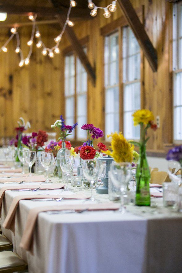 662 best images about Rustic Wedding Table Decorations on Pinterest  Long wedding tables