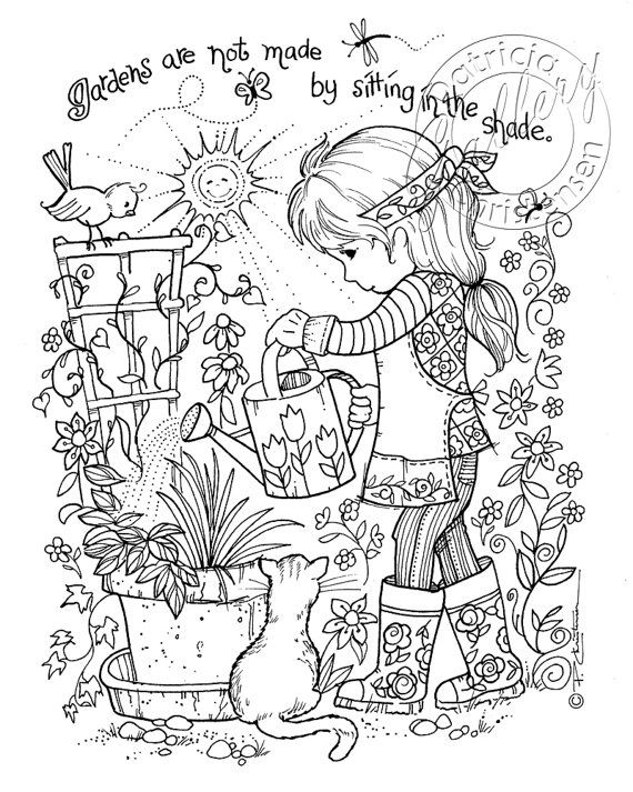 1442 best images about Simply Cute Coloring Pages on
